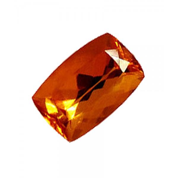 Topaze imp riale de 7 49 carats taille rectangulaire www for La couleur jaune signification