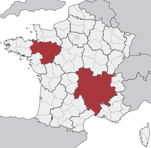 la torbernite en France