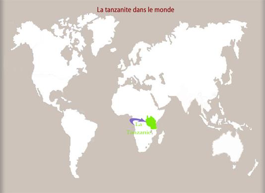 La tanzanite dans le monde