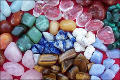 pierres roulées au tonneau
