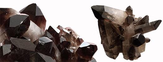 Le quartz morion